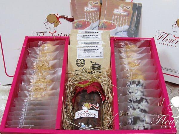 極緻禮盒(6入餅乾,6入濾泡式精品咖啡,1罐松露杏仁可可)